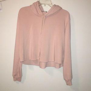 cropped brandy melville sweatshirt